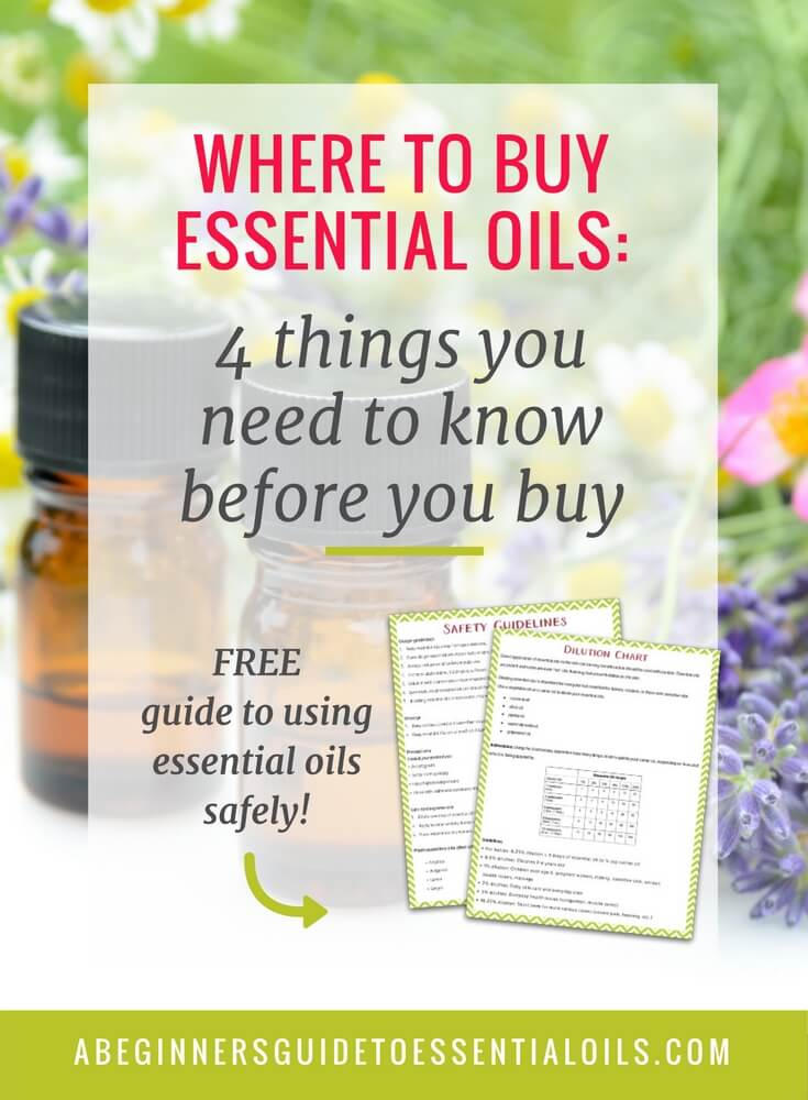 Where to Buy Essential Oils: 4 Things You Need to Know Before You Buy