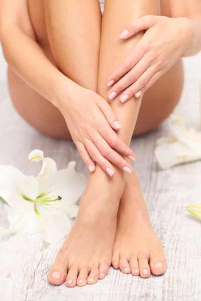 essential oils for feet