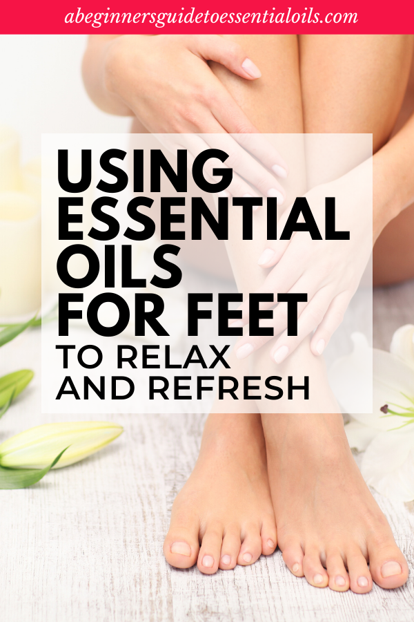 Essential Oils on Feet - tips for why you want to do it and how to do it properly. It's really quite simple to apply essential oils to your feet. Plus, check out this essential oils on feet chart using the vita flex method. #essentialoils #essentialsoilsonfeet #beginneressentialoils
