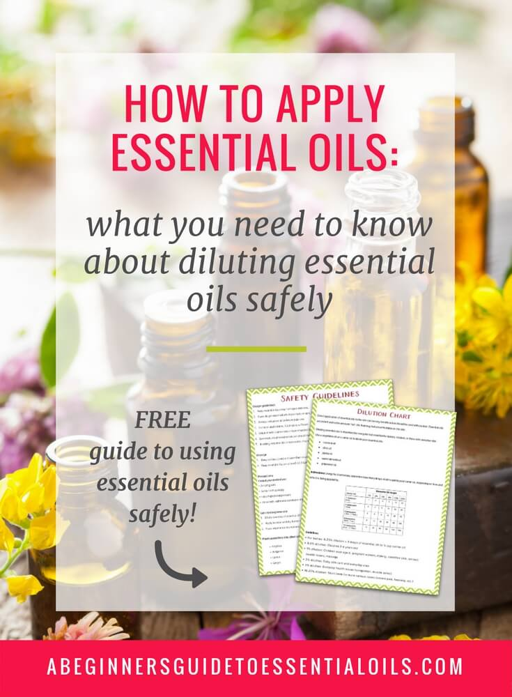 How to Apply Essential Oils Topically: Safely Diluting Essential Oils for Topical Use