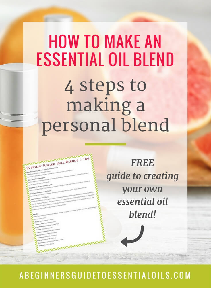 How to Make an Essential Oil Blend: 4 Steps to Making Your Own