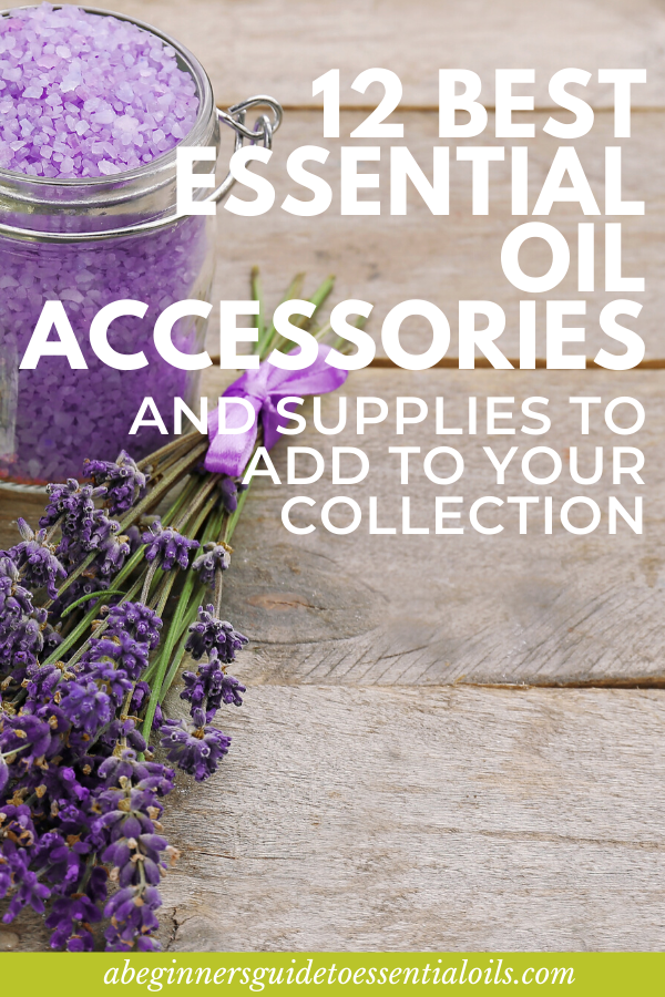 Essential Oil Accessories - From diffuser jewelry to carrier oil containers and storage ideas, there are endless ideas for essential oil accessories. Here are my top 12 best recommendations. These are things I have in my own collection and put at the top of my essential oils accessories shopping list.