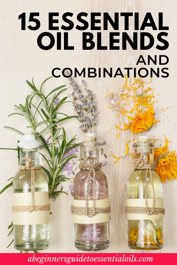 New to Essential Oils? You can make your own simple essential oil combinations for any diffuser. This guide explains how. Plus, check out these 15 easy essential oils combinations and blends that are perfect for beginners. #essentialoil #diffuser #essentialoilcombinations #essentialoilblends #breathe #teatree #lavender #rosemary #frankincense #peppermint