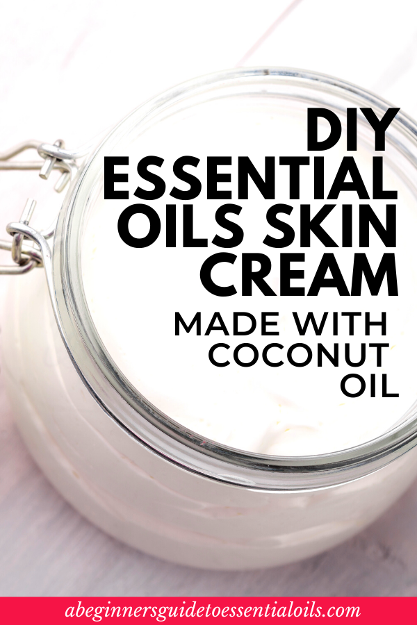 essential oil skin cream recipe DIY