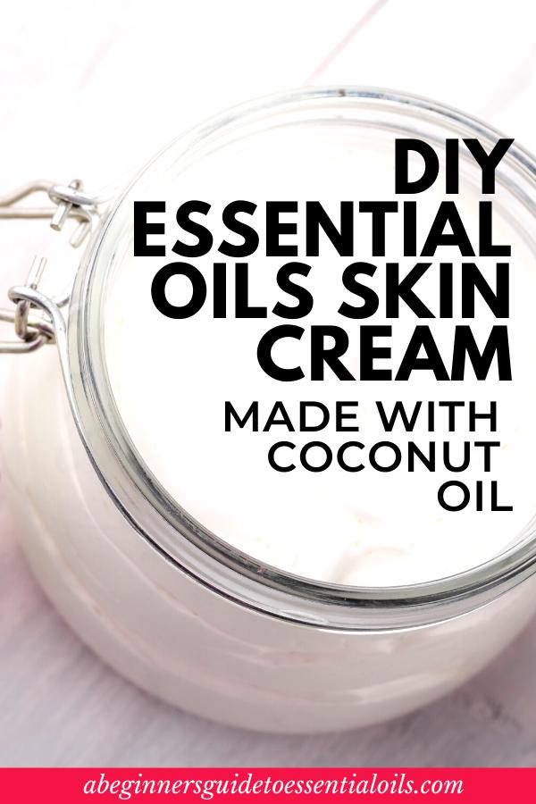 essential oil skin cream recipe DIY