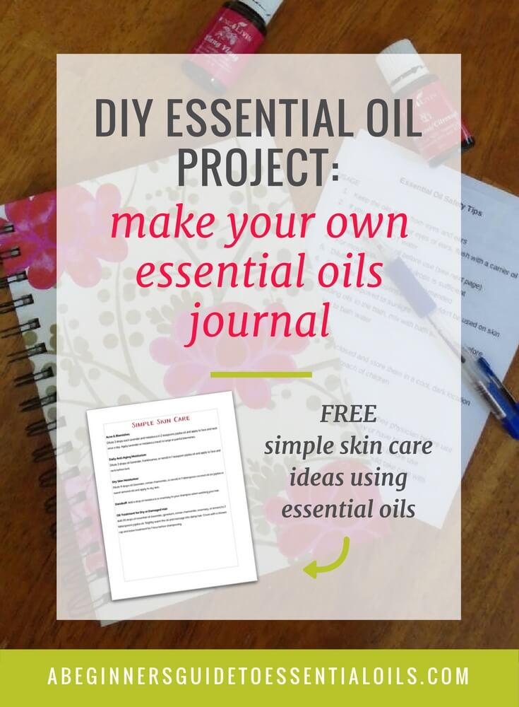 Organizing Essential Oil Recipes: Make Your Own Essential Oil Journal