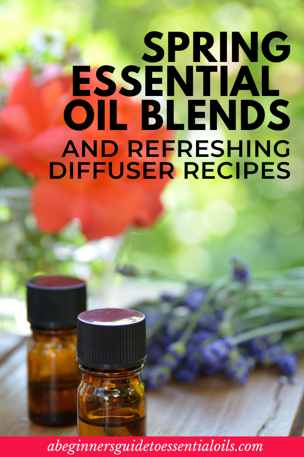 Don't you just love spring? Especially after a long, cold winter! The buds on the trees, the blooming flowers, the sunshine - it's so nice to see those changes, knowing it's bringing warmer weather. These essential oil diffuser blends for spring will only enhance those feelings! #aromatherapy #essentialoils