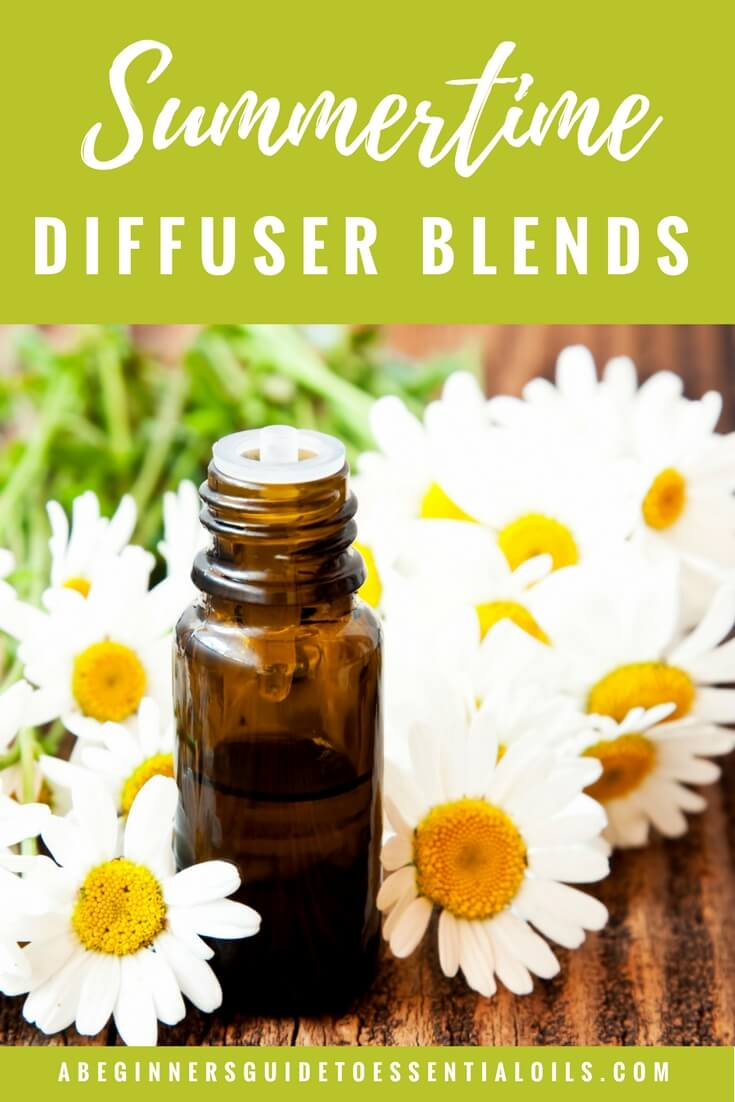 6 Summertime Essential Oil Diffuser Blends