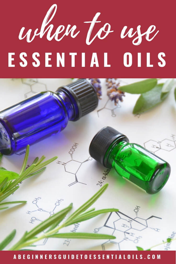 When to use Essential Oils {and when you shouldn't}