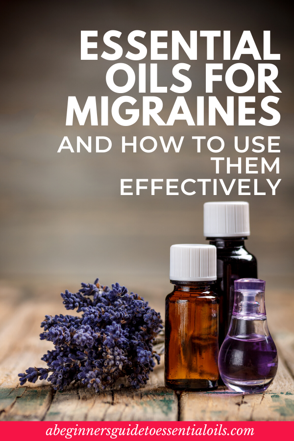 How to Use Essential Oils for Migraines - Essential oils can help you deal with the symptoms of migraine headaches. In fact, I used to get debilitating migraines ever since I was a teenager. But thanks to these essential oil blends, I no longer have migraines on a weekly basis. Check out these 8 best essential oils for migraines and how to use them effectively. #essentialoils #migraines #essentialoilsformigraines #essentialoilsforbeginners