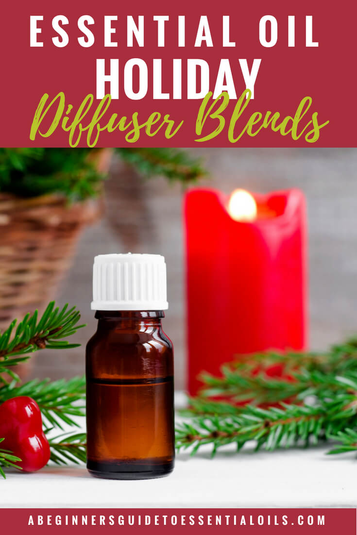 essential oil holiday diffuser blends