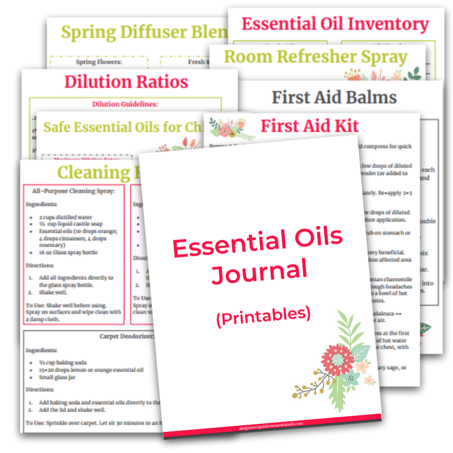 Essential Oils Journal - printables