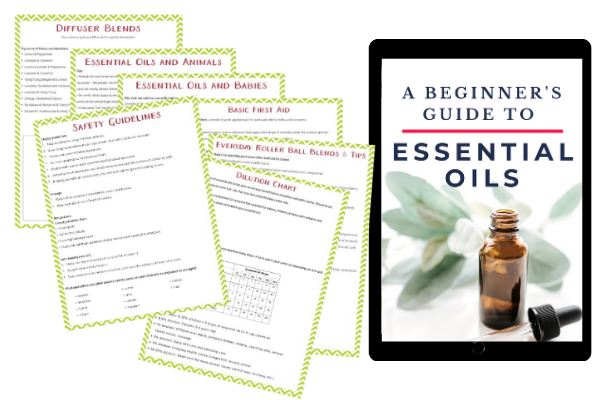 essential oils book package