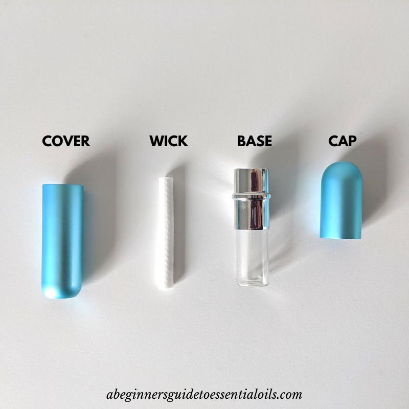 essential oils personal inhaler
