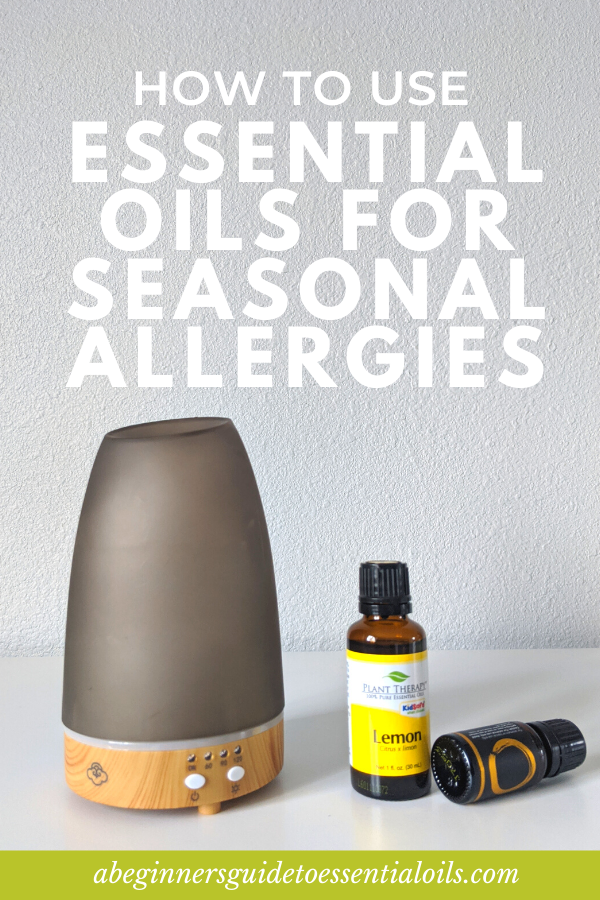 How to use essential oils for allergies - Seasonal allergies are no fun. Thankfully, you can use essential oils as a natural remedy for seasonal allergy relief. Find out how to use essential oils for seasonal allergies - reducing allergens with home care products and dealing with symptoms with a variety of methods. Find the best tips and methods and best essential oils for dealing with allergies.